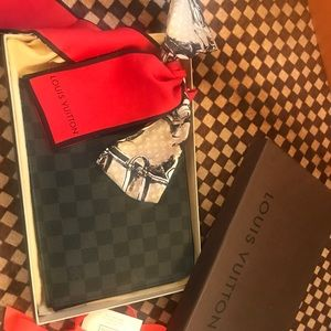 Louis Vuitton's Pochette Jour PM-Damier Graphite